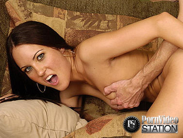 Hot Couch Action with Jamie Huxley