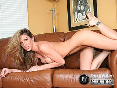 Couch Fucking with Kayla Paige